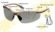 Polarized Safety Glasses